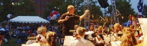 David Christopher, Conductor, 4th of July, City of Wilmington, Delaware Symphony, Musician, 1812 Overture, Peabody Conservatory