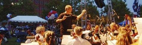 David Christopher, Conductor, Delaware Symphony, Delaware ChoralArts, Wilmington, Delaware