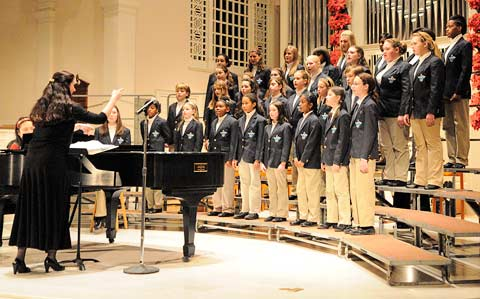 Wilmington Children's Chorus, Christmas Concert, Kimberly Doucette, Philip Doucette, David Christopher, SsAM, The Episcopal Church of Saints Andrew and Matthew, Wilmington, Delaware