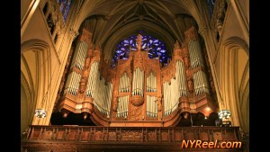St Patrick organ pipes